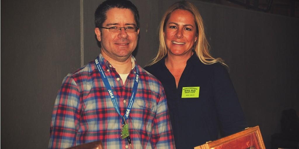 John & Nikki Walsh of FortDonelsonRelics.com