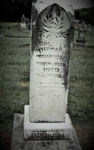 Colonel Woodward Grave