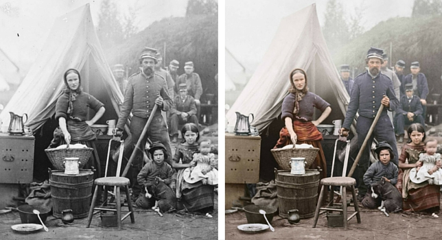 Washington, District of Columbia. Tent life of the 31st Penn. Inf. at Queen's farm, vicinity of Fort Slocum in Washington, DC, 1861.