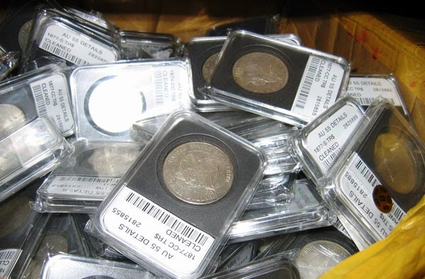 Fake Coin Slabs