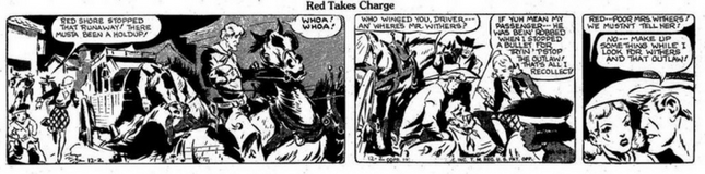 Red Ryder Comic Strip