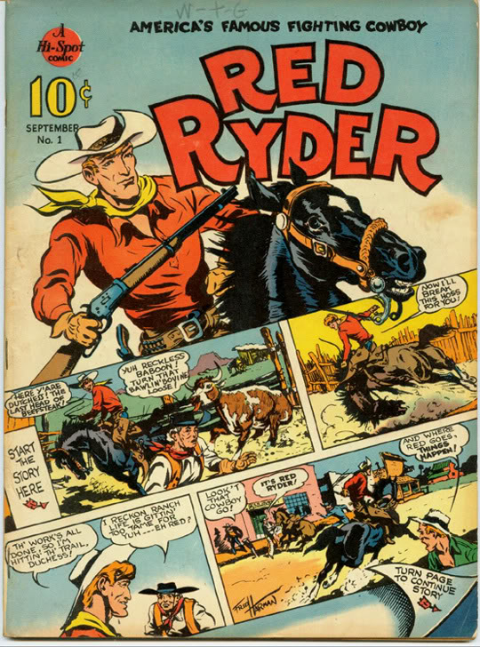 Red Ryder Comic Book