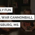 Civil War Cannonball