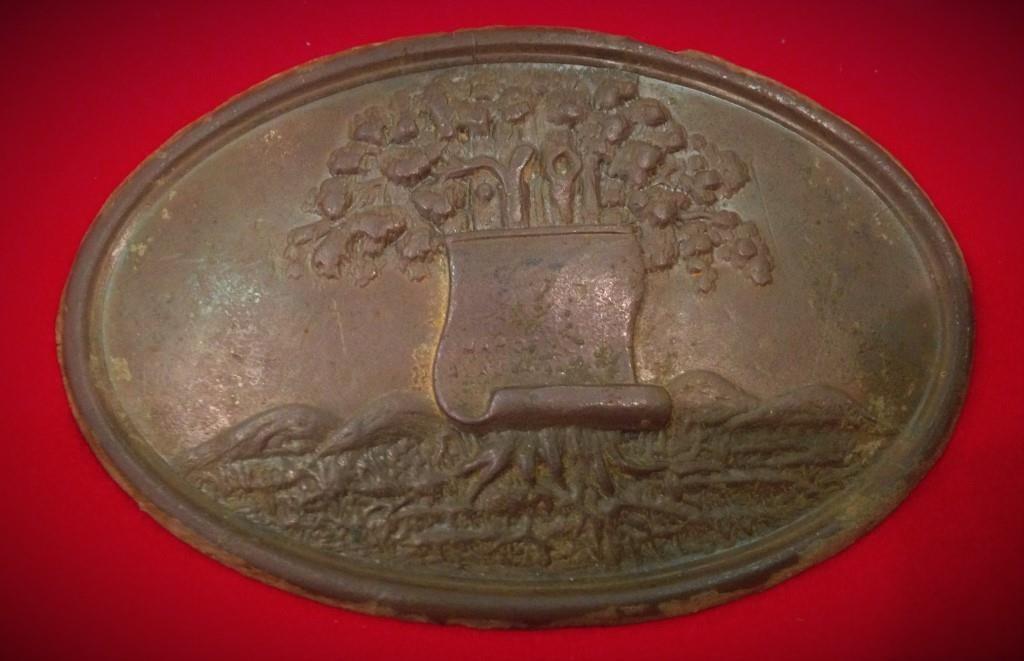 Alabama Civil War Plate
