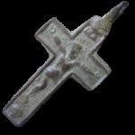 Brass Crucifix found in Civil War camp