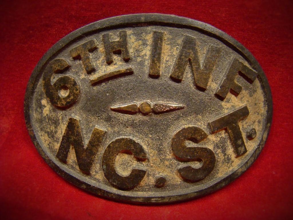 North Carolina Infantry Plate
