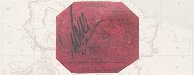 British Guiana 1c Magenta Stamp