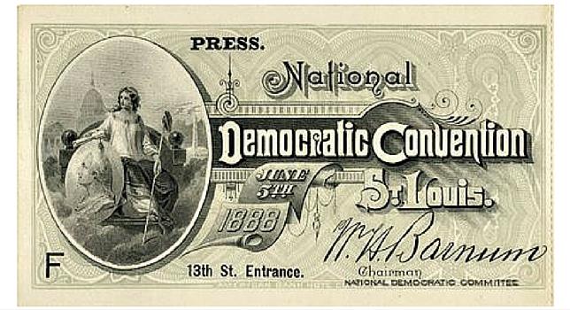Convention Ticket