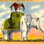 Curt Teich Elephant