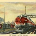 Curt Teich Train