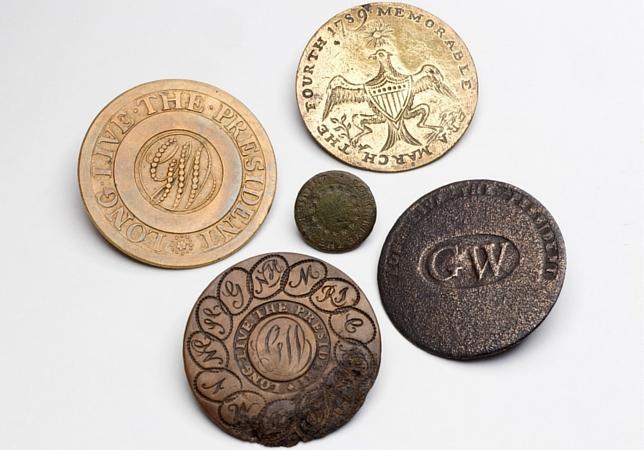 George Washington Inagural Buttons