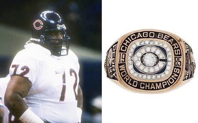 "William ""Refrigerator"" Perry 1985 Super Bowl Ring"