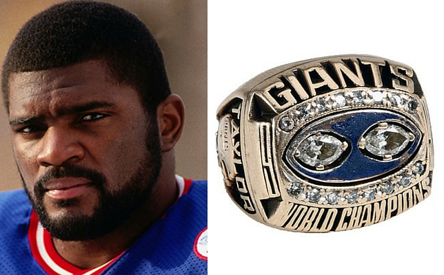Lawrence Taylor 1990 Super Bowl Ring
