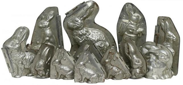 Bunny chocolate molds