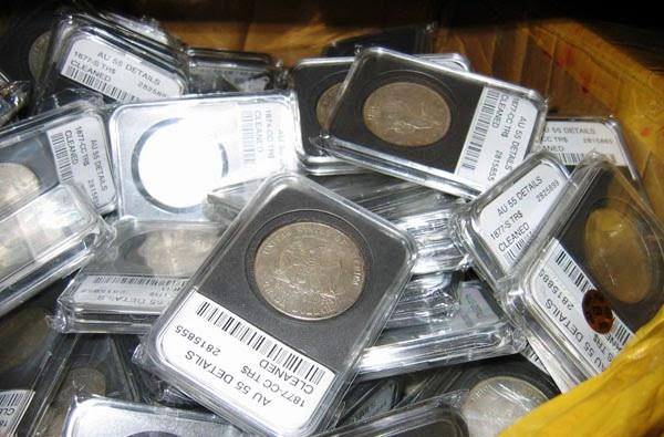 Fake Coin Slabs