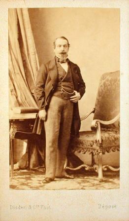 1859 Carte De Visite Of Napoleon III By Disdri Which Popularized The CDV Format
