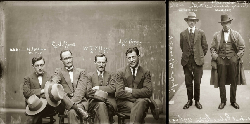 allure vintage mugshots blog