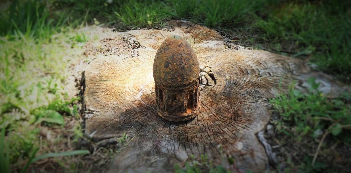 James Rifle Artillery Shell
