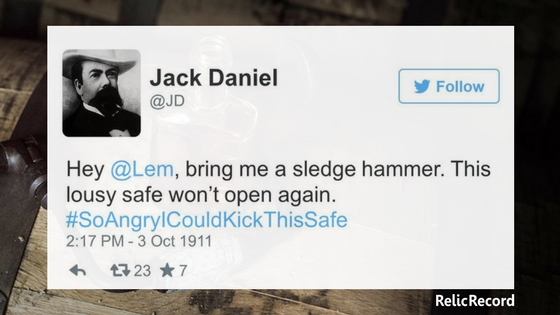 Jack Daniel's Twitter History