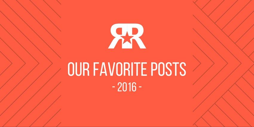 11 Favorite Blog Posts 2016