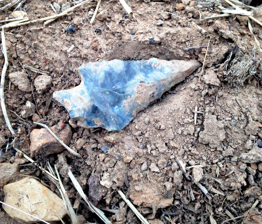 Recovered Arrowheads