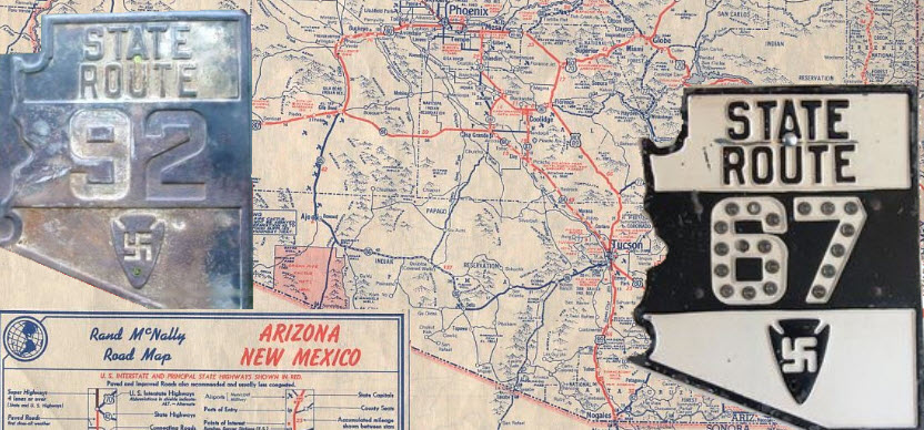 Arizona state highway markers