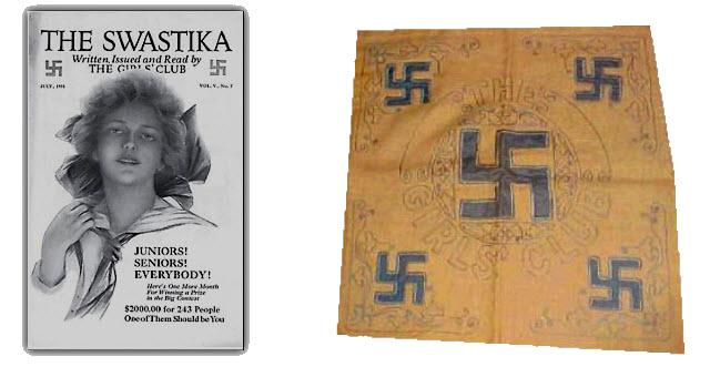 Girl's Club Swastika