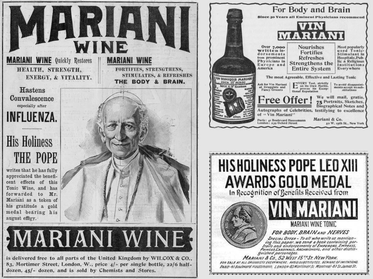 Vin Mariani Advertisement