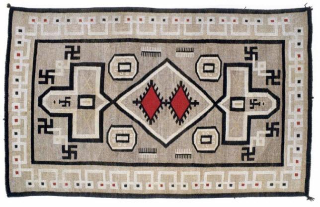 Navajo Swastika Rug
