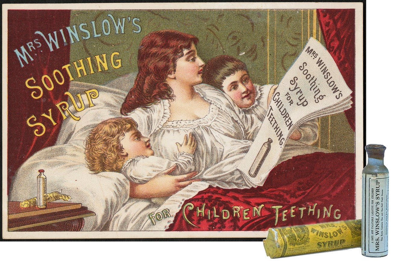 Mrs. Winslow's Soothing Syrup