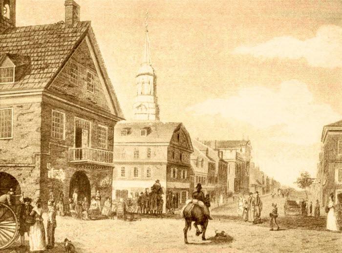 Philadelphia in 1723
