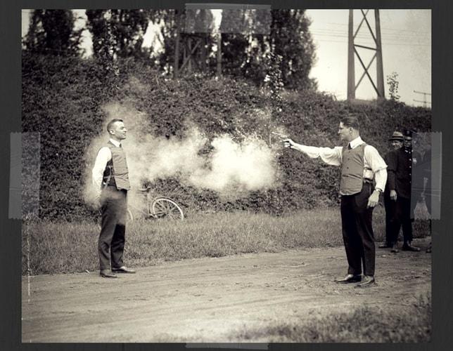 Bulletproff Vest Test