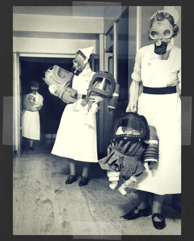 Gas Mask Infants