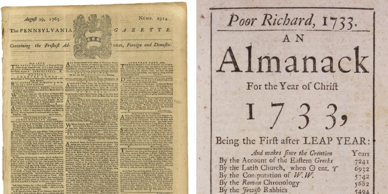 Pennsylvania Gazette and Poor Richard's Almanack