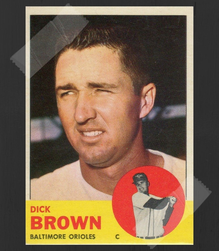 Dick Brown Baseball Card