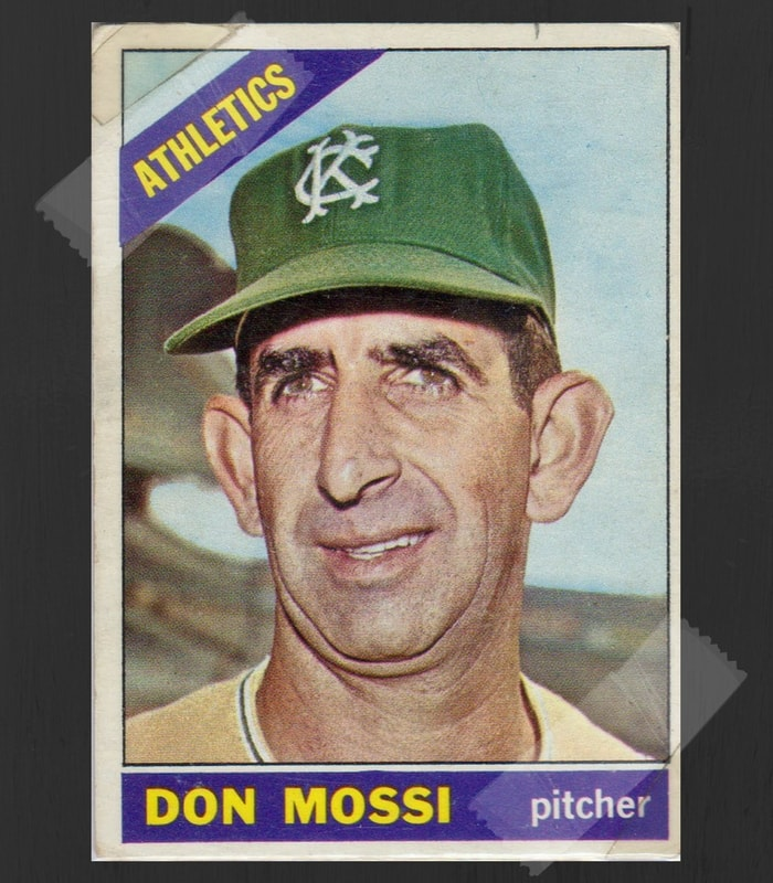 Don Mossi Baseball Card