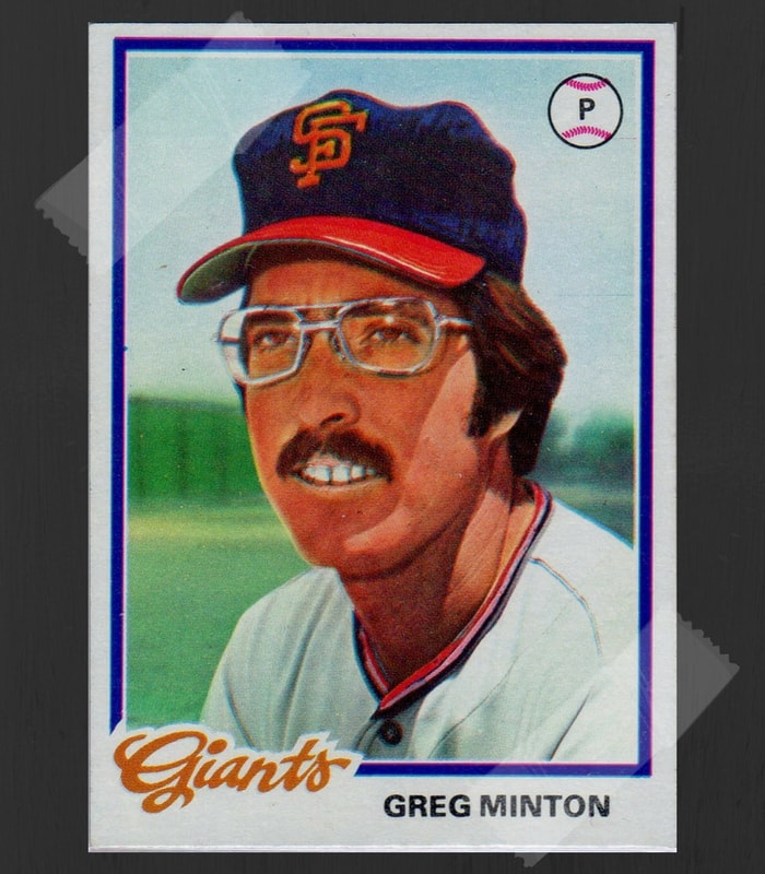 Gerg Minton Baseball Card