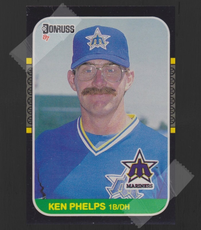 Ken Phelps Baseball Card