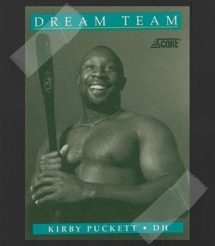 Kirby Puckett Baseball Card