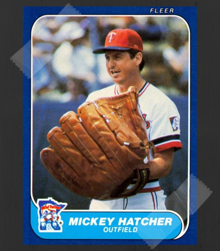 Mickey Hatcher Baseball Card