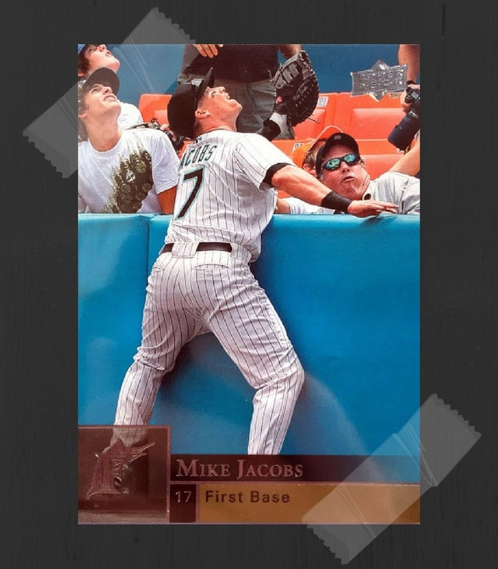 Mike Jacobs Baseball Card