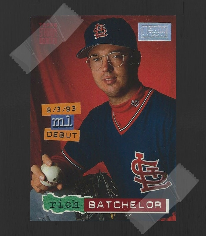 Rich Batchelor Baseball Card