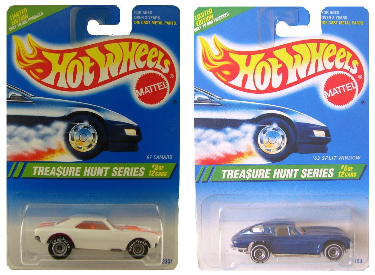 Treasure Hunt Hot Wheels