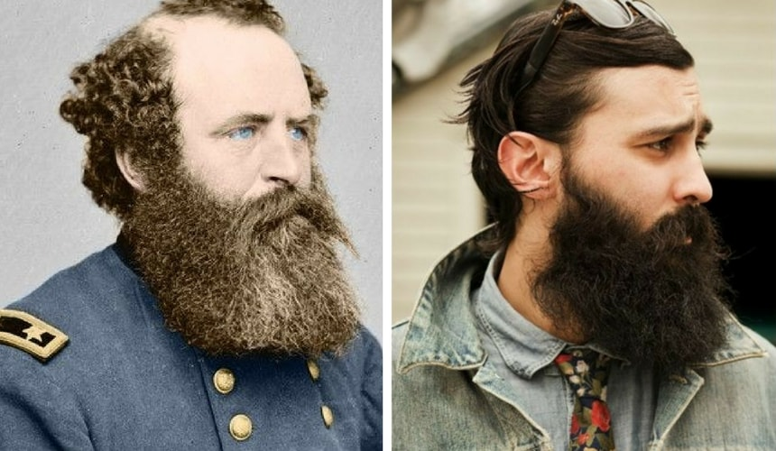 Civil War Bearded Hipster