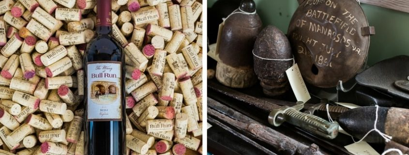 Virginia Wine and Civil War Relics