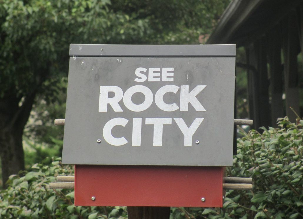 See Rock City Souvenir
