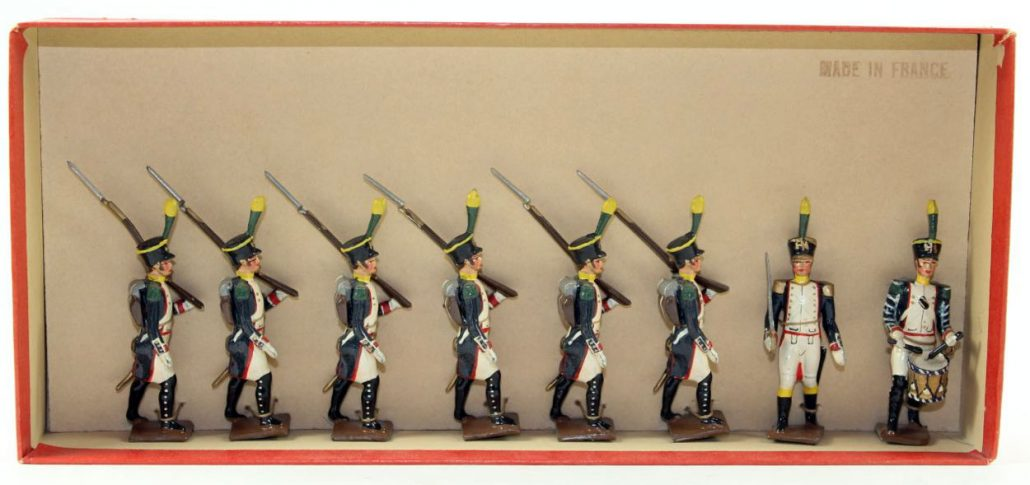 Mignot Napoleonic French Voltigeurs