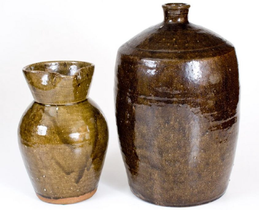 Alkaline Glazed Stoneware
