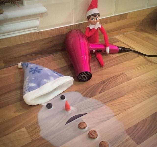 Snowman Murderingn Elf