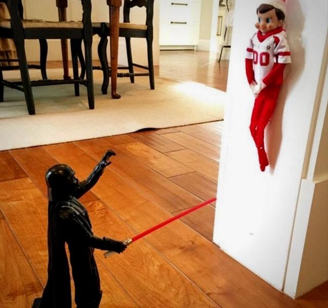 Darth Vader Elf